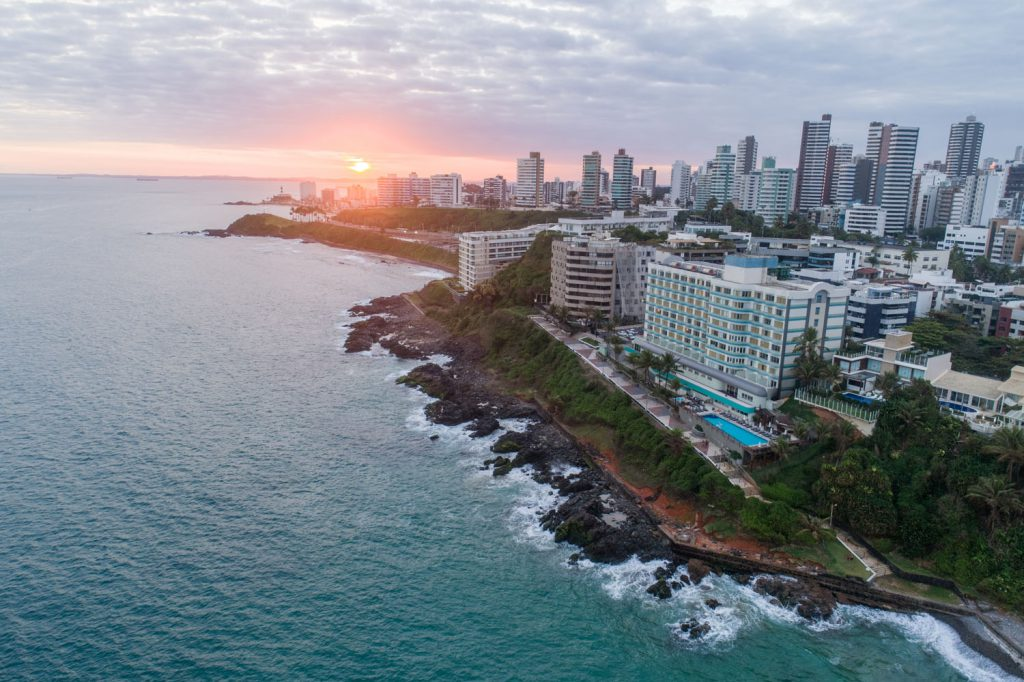 Hotel Vila Gale vistas Salvador