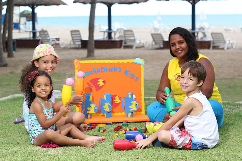 Maragogi Hotel Praia Dourada niños