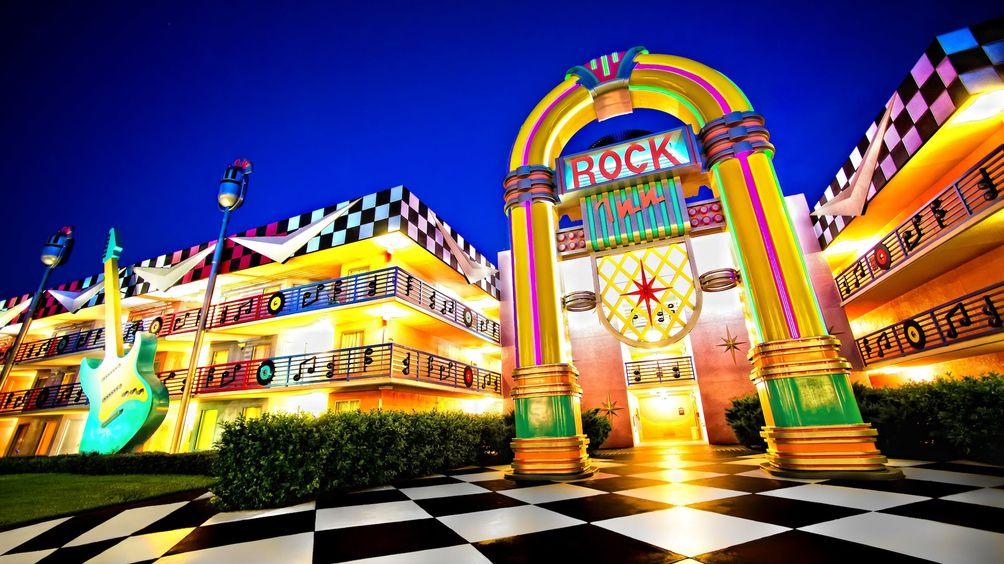 Rock Disney Hotel