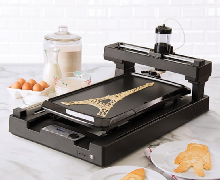 La comida hecha en impresoras 3D llega a los congresos y convenciones
